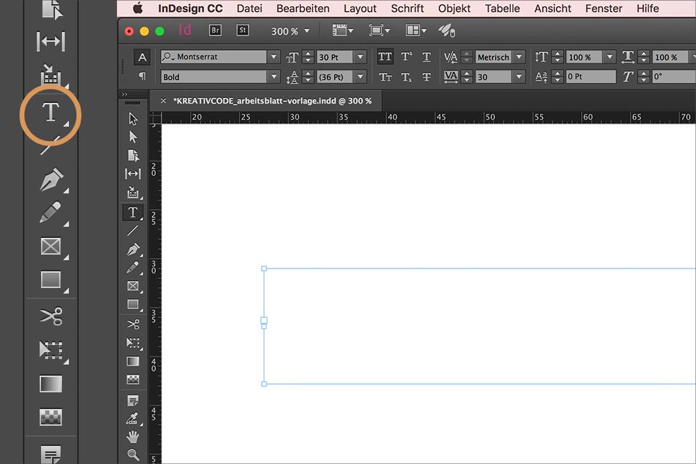 In 9 Schritten ein Arbeitsblatt mit InDesign erstellen | Kreativcode ...